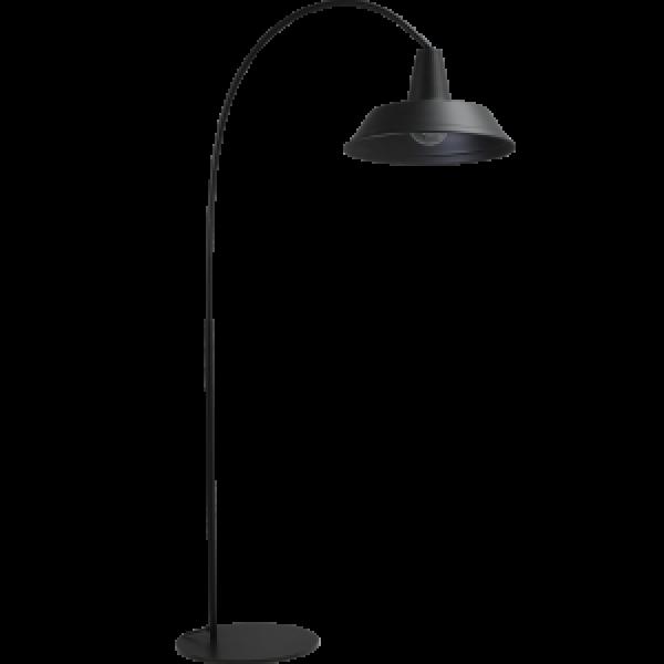 Vloerlamp Prato Black Masterlight.