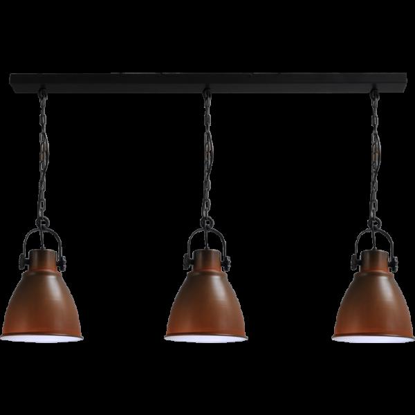 Hanglamp Industria Rust White Masterlight 2007-25-H-130-3