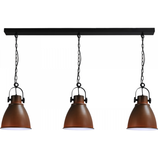 Hanglamp Industria Rust White Masterlight 2007-25-B-130-3