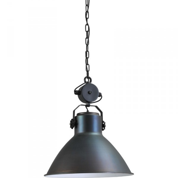 Hanglamp Gunmetal White Industria 2011 Masterlight 2011-30