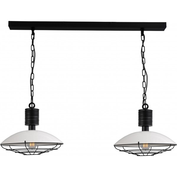 Hanglamp White Industria Masterlight 2013-06-C-R-100-2
