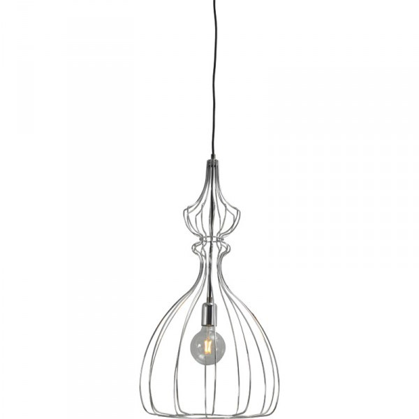Hanglamp Shiny Nickel Caged Pear Concepto Masterlight 2017-07-38