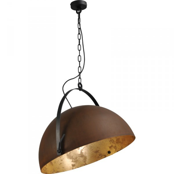 Plafondlamp Larino Rust Goldleaf 60 cm Masterlight