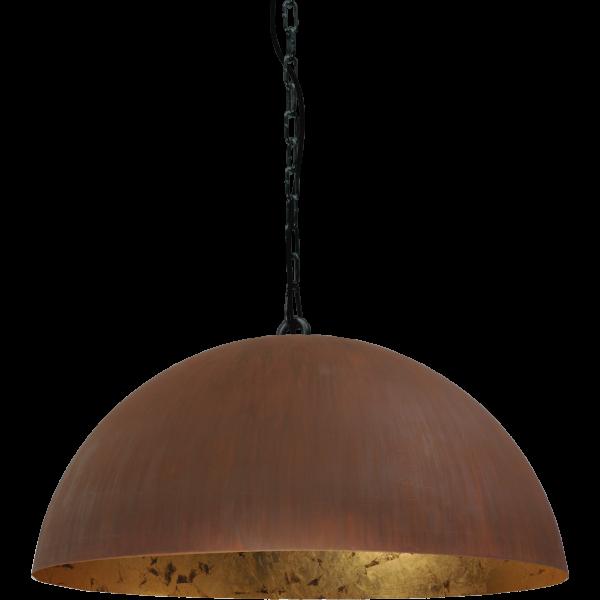 Hanglamp Larino Rust Goldleaf Masterlight 30 cm