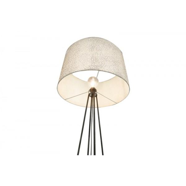 Vloerlamp Wangi White met kap 55 cm