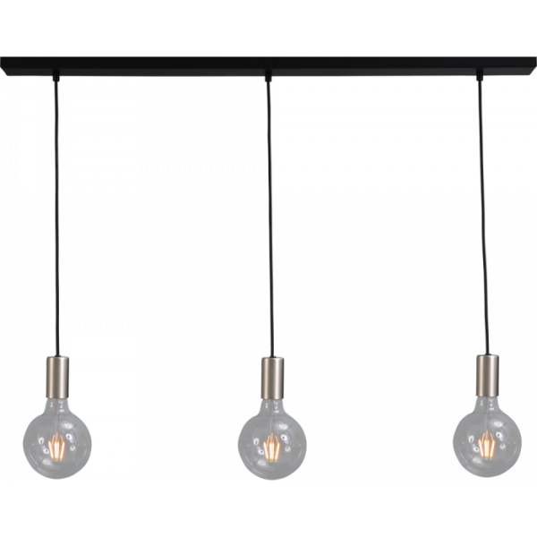 Hanglamp Tessi Nickel Masterlight 2037-37-100-3