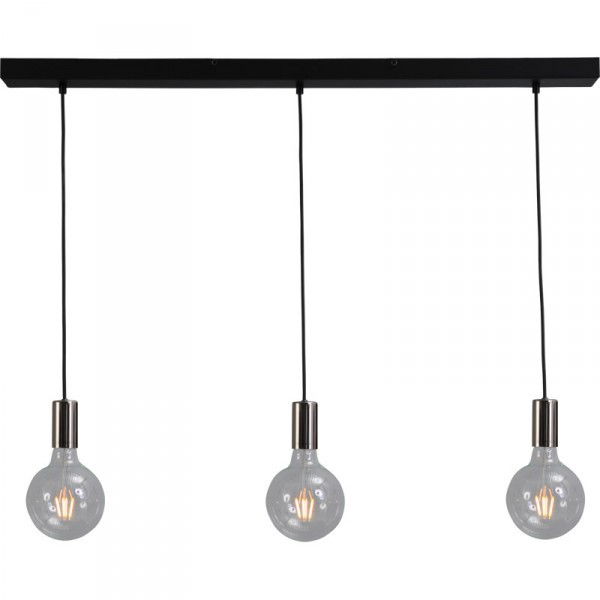 Hanglamp Tessi Black Nickel Masterlight 2037-82-100-3