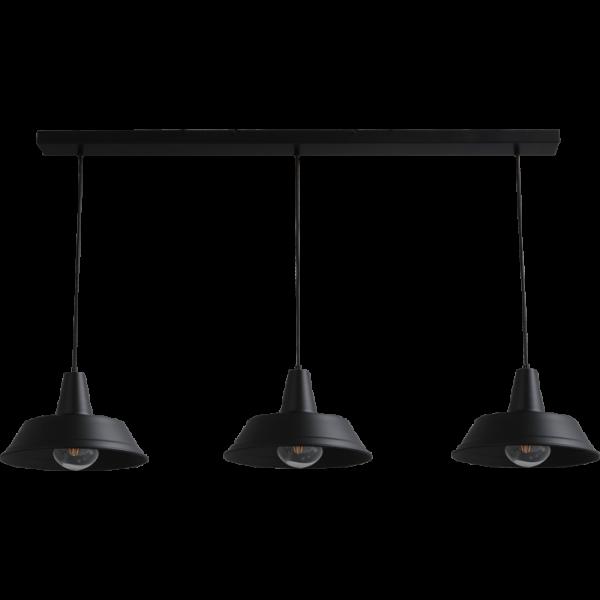 Hanglamp Prato Black Masterlight 2546-05-130-3