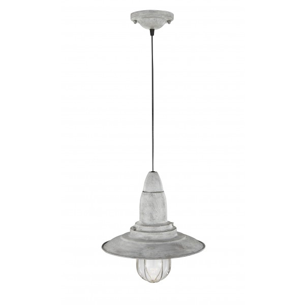Hanglamp Vintage Fisherman Grijs