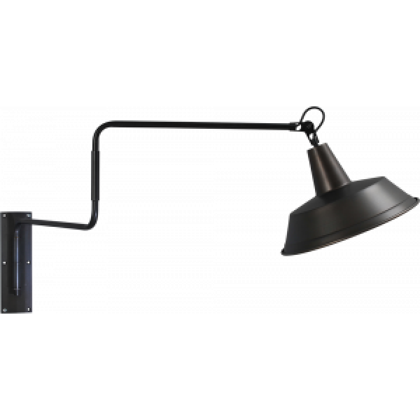 Wandlamp Prato 35 cm Black Masterlight