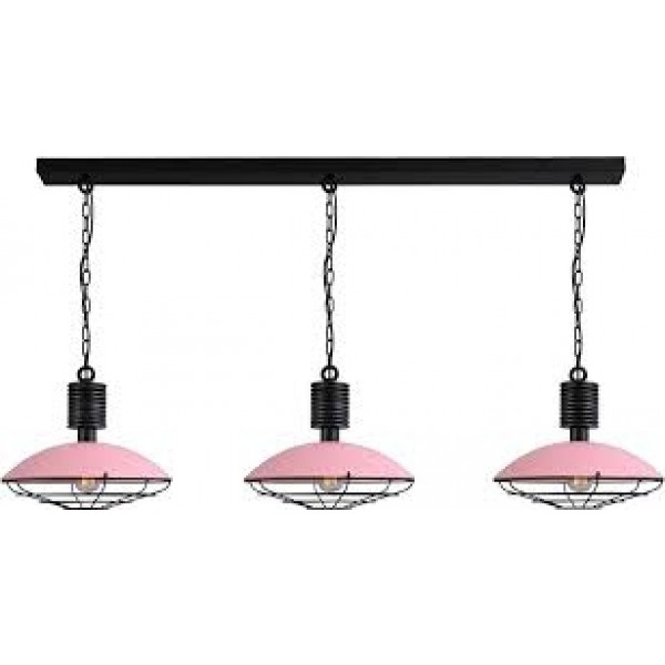 Hanglamp Pink Industria Masterlight 2013-09-C-R-160-3