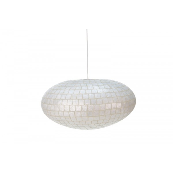 Hanglamp Moni White Ufo M