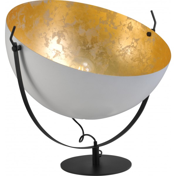 Tafellamp Larino White Goldleaf 60 cm Masterlight