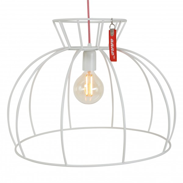 Hanglamp Crinoline Wit Anne Lighting