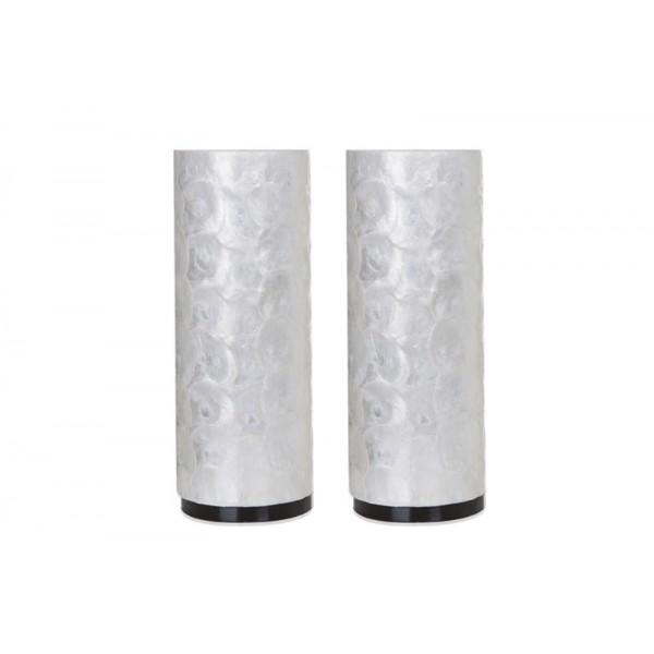 Tafellamp Full Shell Cilinder 40 cm set van 2