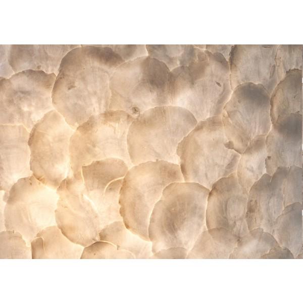 Wandlamp Full Shell Rechthoek set van 2