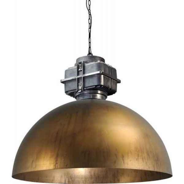 Hanglamp Industrieel Antik Brass 80 cm BOX