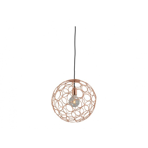 Hanglamp Shiny Copper Caged Sphere Concepto Masterlight 2016-56-40