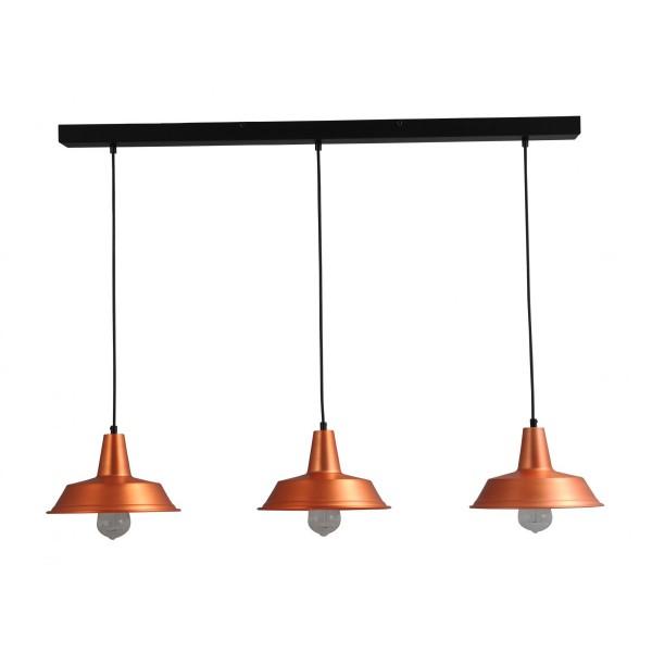 Hanglamp Prato Copper Masterlight 2545-55-100-3