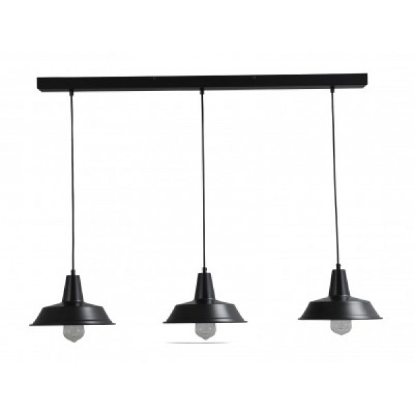 Hanglamp Prato Black Masterlight 2545-05-100-3