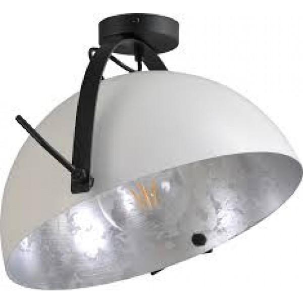 Plafondlamp Larino White Silverleaf 40 cm Masterlight