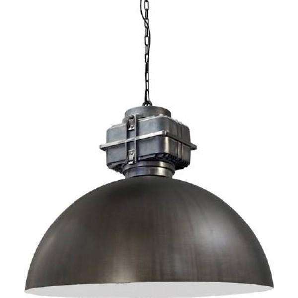 Hanglamp Industrieel Gunmetal White 80 cm BOX