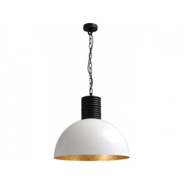 Hanglamp Larino White Goldleaf Masterlight