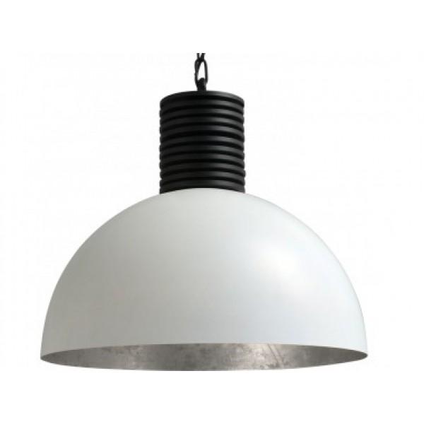 Hanglamp Larino White Silver leaf Masterlight