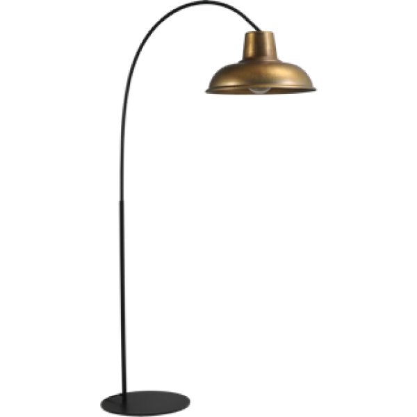 Vloerlamp Antik Brass Industria Masterlight 1047-05-10