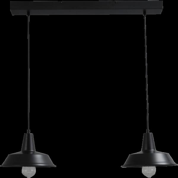 Hanglamp Prato Black Masterlight 2545-05-70-2