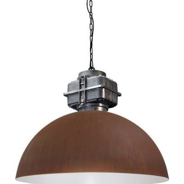 Hanglamp Industrieel Rust White 80 cm BOX
