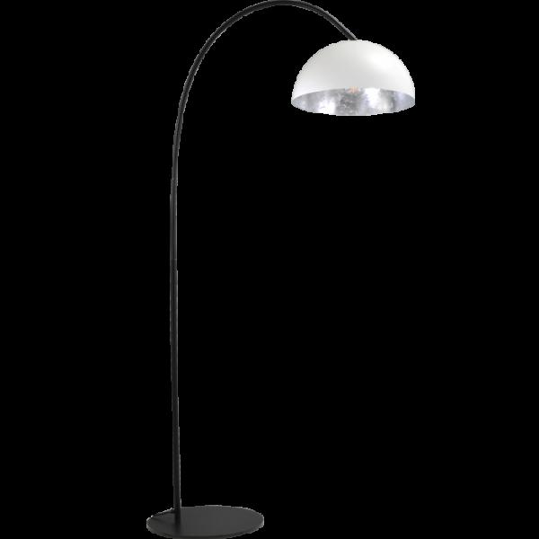 Vloerlamp Larino White Silverleaf Masterlight