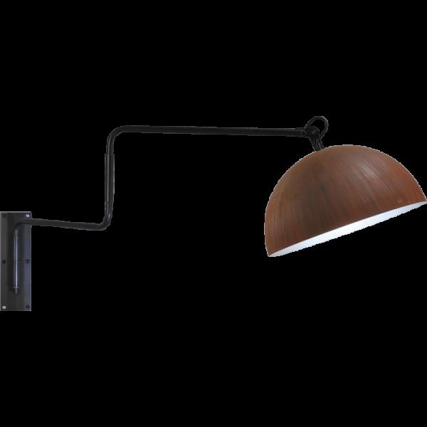 Wandlamp Larino Rust White Masterlight