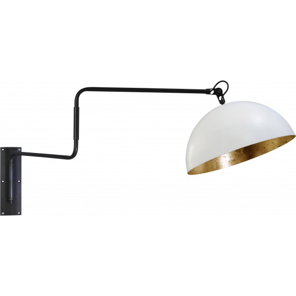 Wandlamp LArino White Goldleaf Masterlight