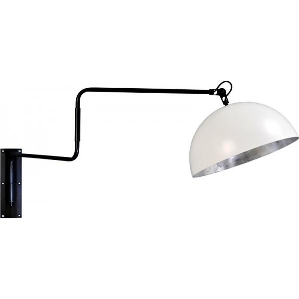 Wandlamp Larino White Silver leaf Masterlight
