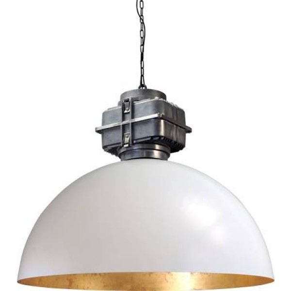 Hanglamp Industrieel White Goldleaf 80 cm BOX