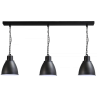 Hanglamp Industria Gunmetal White Masterlight 2007-30-H-130-3