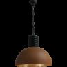 Hanglamp Larino Rust Goldleaf Masterlight 50 cm