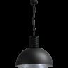 Hanglamp Larino Gunmetal Silverlight Masterlight