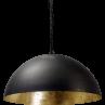 Hanglamp Larino Gunmetal Goldleaf Masterlight