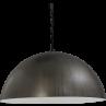 Hanglamp Larino Gunmetal White Masterlight 40 cm