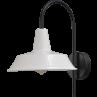 Wandlamp 25 cm Prato White Masterlight.