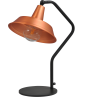 Tafellamp Prato Copper Masterlight.